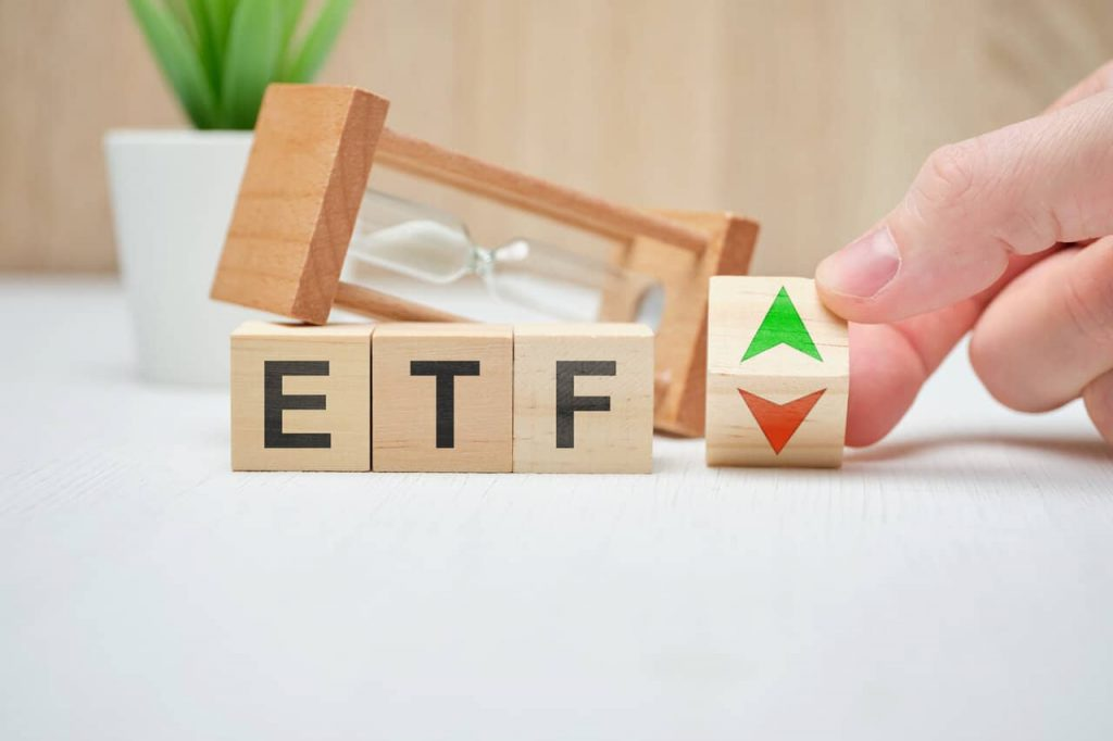 Wooden Block With ETF